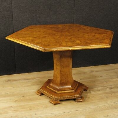 Dining table dutch wood furniture living room antique style antiques 900