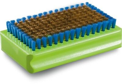 Dakine Brass Tuning Brush Snowboard Base Brush Green