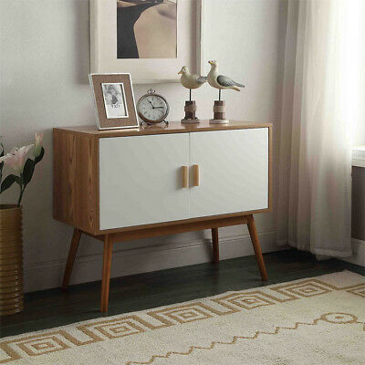 Modern Mid Century Storage Cabinet Sideboard Console Credenza Table Buffet NEW