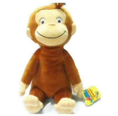 New 1 PCS 12 inches Curious George Monkey Plush Doll Kids Toy children's Gift US