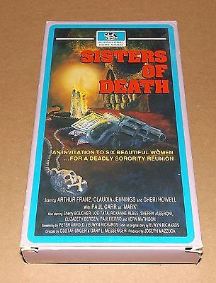 Sisters of Death vhs Claudia Jennings INTERGLOBAL HOME VIDEO