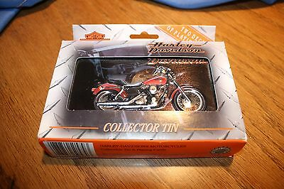 New Harley Davidson Collector Tin with cards