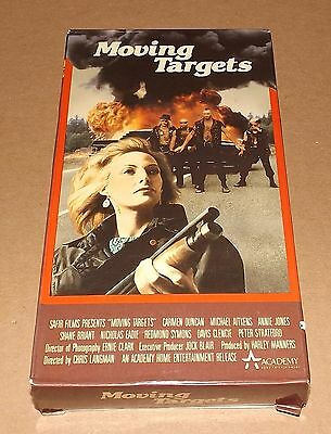 Moving Targets vhs video Carmen Duncan ACADEMY HOME ENTERTAINMENT