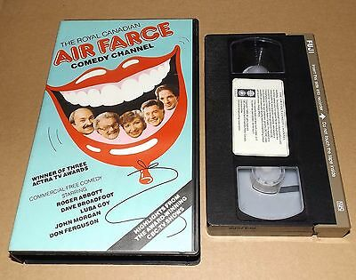 The Royal Canadian Air Farce Comedy Channel vhs video