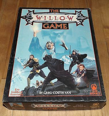 THE WILLOW GAME unplayed 1988 TOR BOOKS