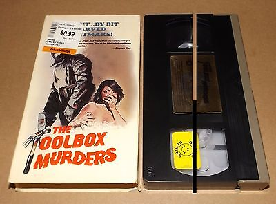 The Toolbox Murders vhs video UNITED HOME VIDEO Cameron Mitchell
