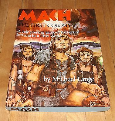 MACH : THE FIRST COLONY game ALLIANCE PUBLICATIONS LTD. complete