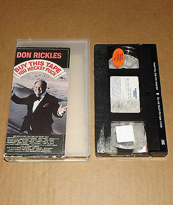 Buy This Tape You Hockey Puck vhs video Don Rickles