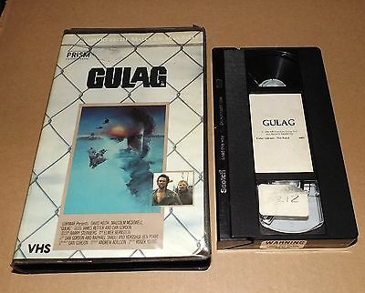 Gulag vhs video PRISM ENTERTAINMENT clamshell David Keith