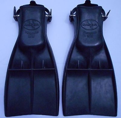 Vintage Dacor Medium Turbo 2 Fins