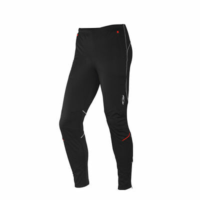 SOBIKE NENK Black Cycling Warm Tights Casual Bike Wind Pants with Pockets 2XL