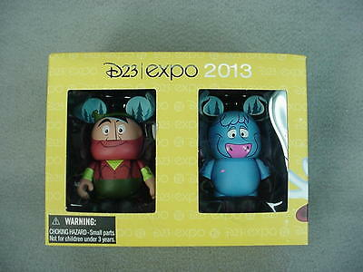 "Disney VINYLMATION 3"" D23 Expo 2013 Paul Bunyan & Babe LE 1000 NEW"