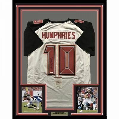 FRAMED Autographed Signed ADAM HUMPHRIES 33x42 Tampa Bay White Jersey JSA  COA 8b501c090