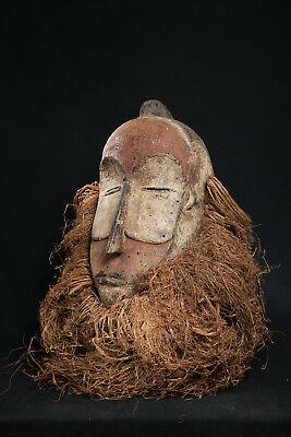 Fang Style Mask, Central Gabon, African Tribal Art, African Masks