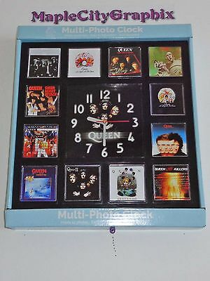 Queen Music Rock Band Novelty Wall Clock