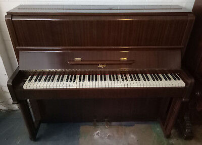 Beale Upright Piano - Art Deco Bijou Model - 1950s/1960s - Excellent Condition