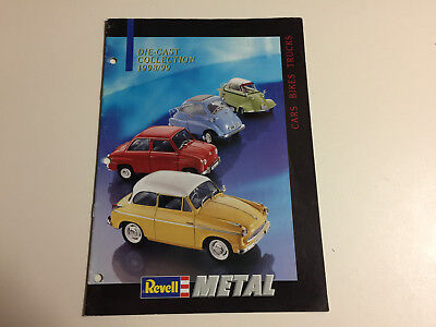 Toy Catalog For Revell Metal For 1998-4999 From Usa.