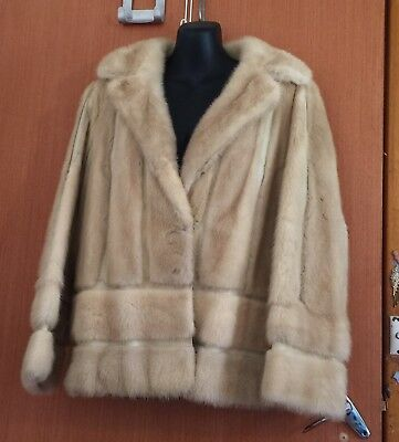 Vintage Real Fur Leather Woman's Jacket  Fashion Design Brand Turner Sydney
