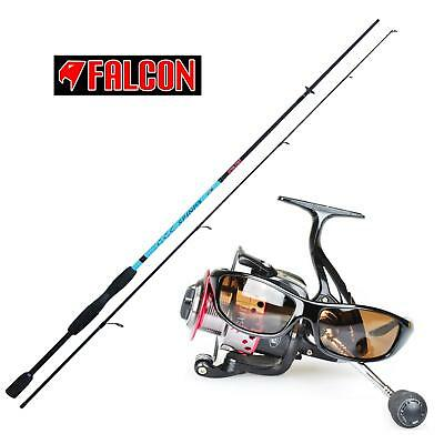 KP2860 Kit Pesca a Spinning Canna Spinix 210cm 10-40gr + Mulinello Sunshine FEU