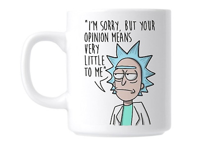 Coffee Mug - Rick and Morty Theme Tea Cup - Gift For TV Series Fan, Friends