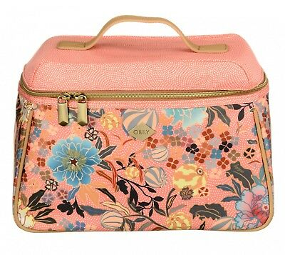 Oilily Cosmetictasche L Beauty Case Shell Pink