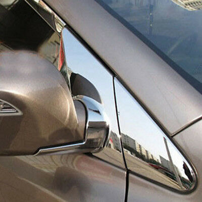 Chrome Door Rearview Wing Mirror Molding Cover For Hyundai TUCSON ix35 2010-2014