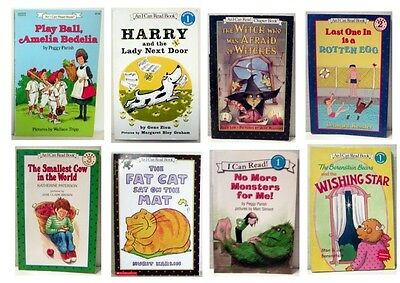 Lot Of 8 - An I Can Read Childrens Paperback Books