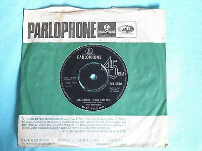 The Beatles ~Strawberry Fields Forever/Penny Lane - IRELAND R(I)5570