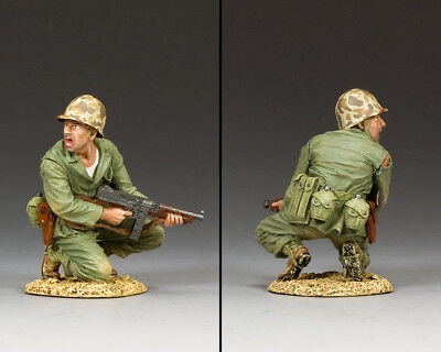 KING AND COUNTRY US Marine Officer with Tommy Gun USMC13 USMC013