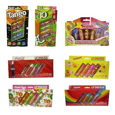 Lip Balm Retro Coca Cola Starburst Chupa Chups Skittles Tango Stocking Fillers