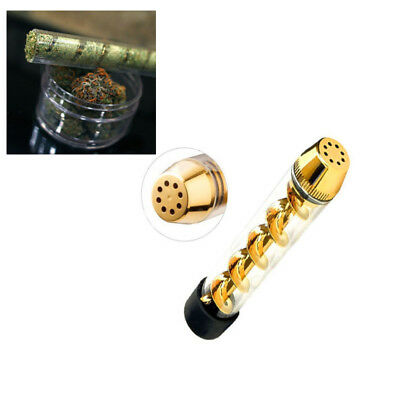 510 Tobacco Pipe Glass Smoking Cigarette Spiral Pipes Holder Best Offer Tank