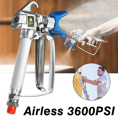 3600PSI Airless Paint Spray Gun With Tip Titan Sprayer Tool + Nozzle Seat