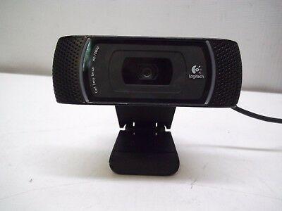 Logitech C910 Carl Zeiss Tessar HD 1080 Video Webcam Camera