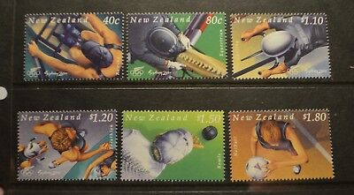 N. Zealand  2000 Olympic and Sporting Pursuits   set  MUH  s15