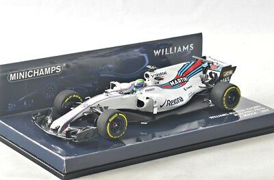 NEW 1/43 Minichamps 417170019 Williams Martini Mercedes FW40, Felipe Massa #19