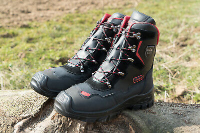 Brand New Oregon Yukon 295449 Forestry Lightweight Safety Boot Class 1 (20M/s)