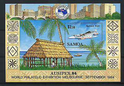 Samoa 1984 SG#MS683 Ausipex Stamp Exhibition MNH M/S #A75804