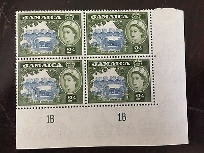 Jamaica Scott 170 Plate Block Of 4 MNH