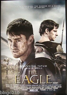 The Eagle Original 2011 Cinema  1 Sheet Poster Channing Tatum Jamie Bell