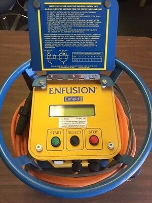 Enfield Enfusion Fusion GPS Plastic PVC GAS Pipe Welder 120VAC
