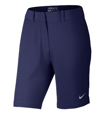 Nike Womens Bermuda Solid Golf Shorts.SIZE: UK 14, Blue. New with tags