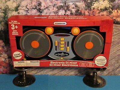 New Electronic DJ Mixer Kid Connection Real Working 4 Demo Songs 24 Sound Effect