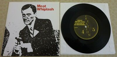 Whiplash, Don't Slip Up/here It Comes, 1982 Creation 45 In Picture Fold Sleeve.