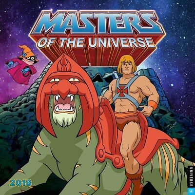 He-Man and the Masters of the Universe 2018 Square Wall Calendar 30x30cm