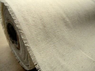 "Natural Washed 100% Irish Linen Fabric 55"" Wide P/mtr Minimum Order 2Mtrs"