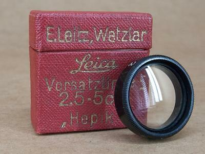 Leitz Leica Close-up lens for 5cm Hector HEPIK no. 2 - Boxed