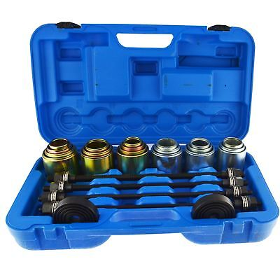 Universal Press And Pull Bearing Bush Sleeve Kit Remover Installer 26pcs Berge