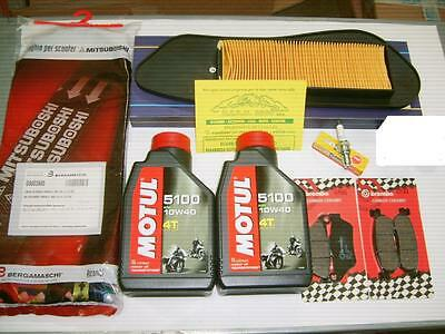 Replacement Kit Castrol Complete Yamaha X-Max 250 Year 06-09