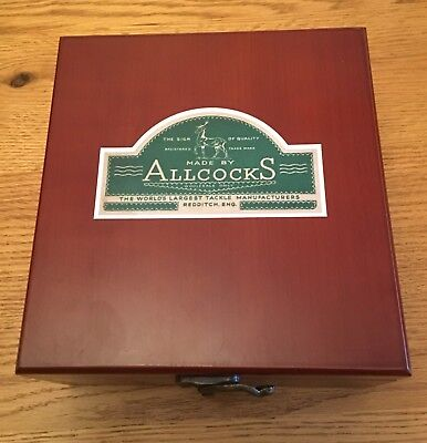 Wooden Box To Fit Allcocks MatchAerial