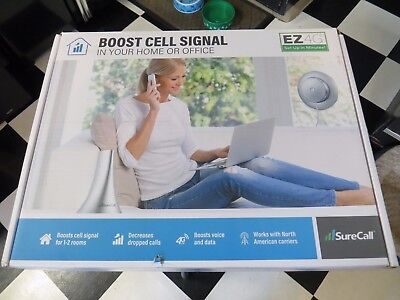 New SureCall EZ 4G Universal 5-Band Cellular Signal Booster Home Small Business